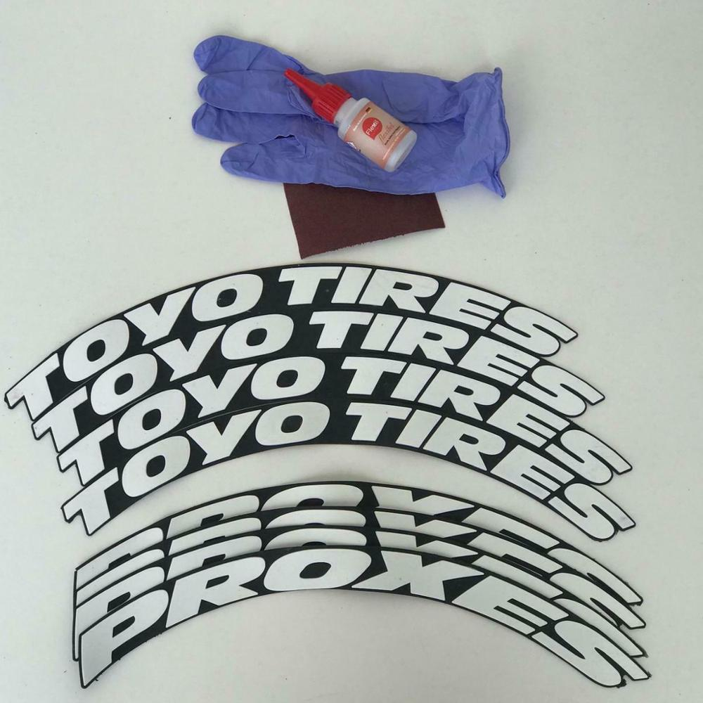 Toyo Tires Proxes Tire Stickers 1