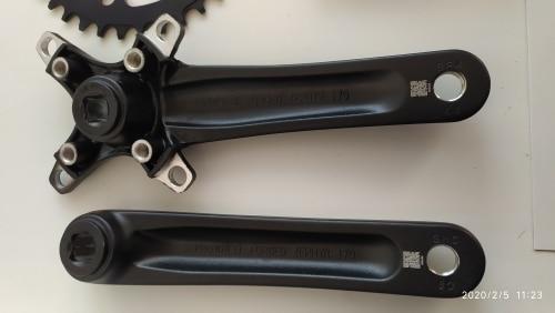 -- Dentada Manivela Bicicleta