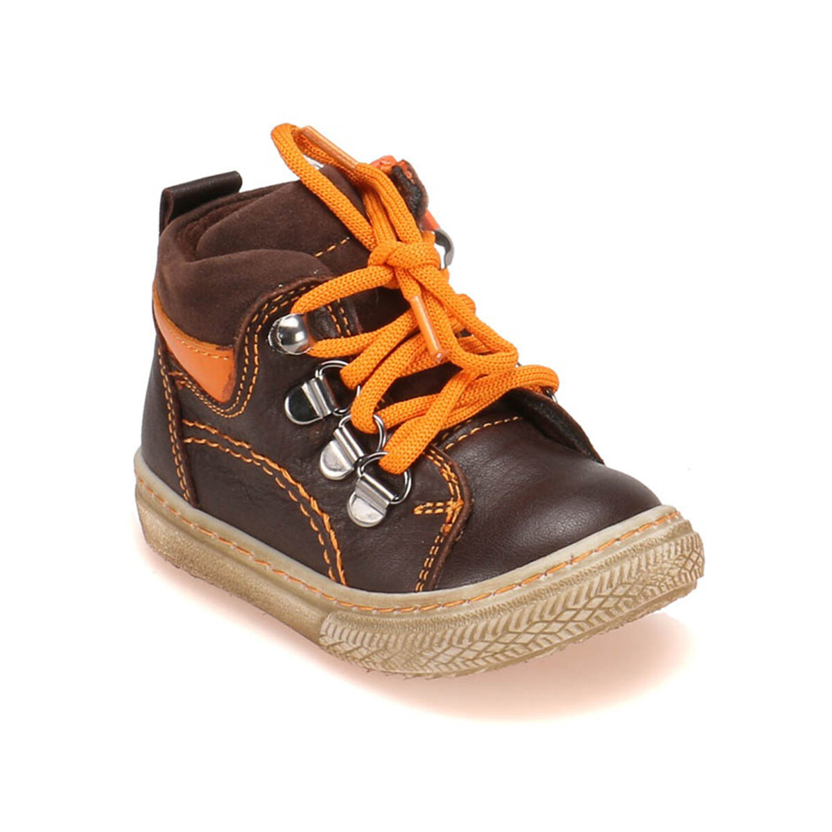 FLO 52. 507586.B Brown Male Child Boots Polaris