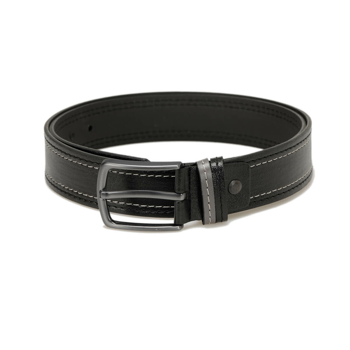 FLO MKNYL3405 Black Male Belt Oxide