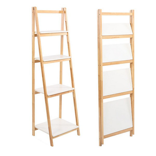 Bathroom Shelves Foldable 110051 (4 Shelves)