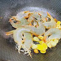 三分钟版本之红烧大虾的做法图解4