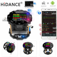 18650 testador de bateria eletrônica monitor de capacidade de carga indicadora carga descarga usb medidor 12v fonte alimentação verificador cor app