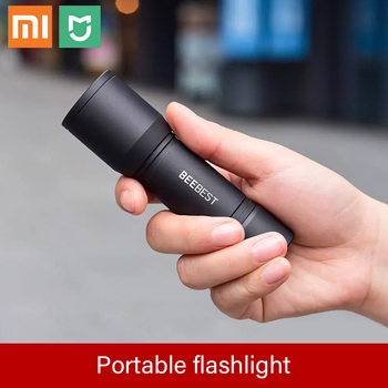 Xiaomi mijia 130m Lightweight AAA EDC Flashlight From Xiaomi Youpin Waterproof SOS Portable Mini Torch