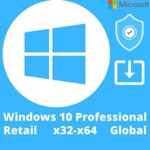 Windows 10 Pro, профессиональный 100% рабочий, глобальная клавиша. Ключ. Windows 10