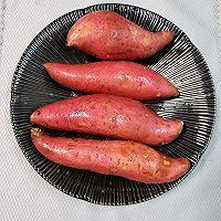 入口即化甜的流蜜的微波炉版烤蜜薯的做法图解2