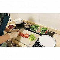 潮汕湿炒芥兰牛肉炒粿条的做法图解5