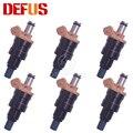 DEFUS 6X A46-000001 топливная форсунка сопло Bico для NISSAN 1975-1988 NISSAN DATSUN 2.0L I4 2.4L 2.8L I6 A46 000001 A46000001 Новый