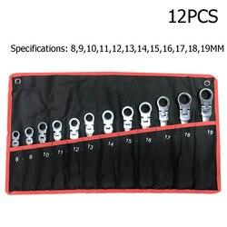 키 세트 렌치 Multitool 키 래칫 스패너 도구 세트 렌치 세트 유니버설 렌치 도구 자동차 수리 도구