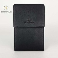 Travel Wallet leather Bon Voyage