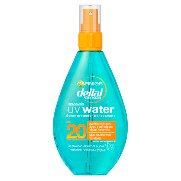 Spray Sonne Beschützer Uv Wasser Delial SPF 20 (150 ml)