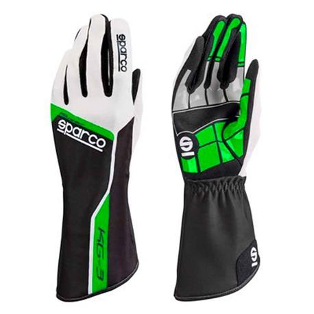 Sparco gloves Track Kg 3 Tg. 09 green   - title=