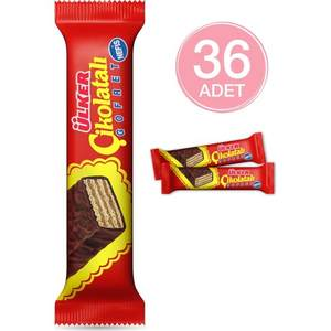 Chocolate Covered Wafers Ulker 36 PC