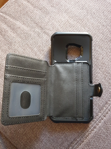 Stallion - Premium Leather Wallet Case For Samsung photo review