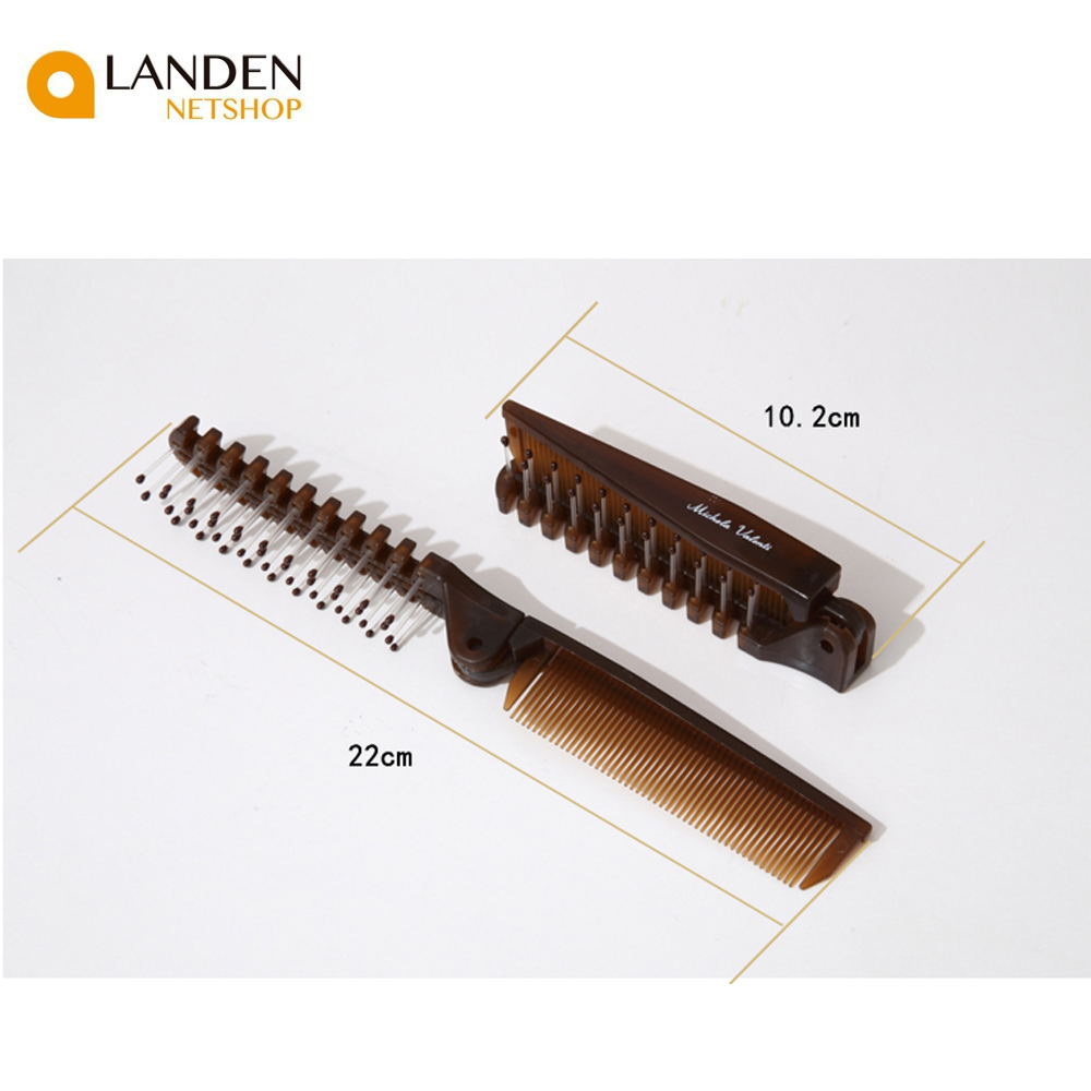 1 PCs Folding Comb Clip, Antistatic, Comb's Beard And Mustache, Out Tools Hair Salon