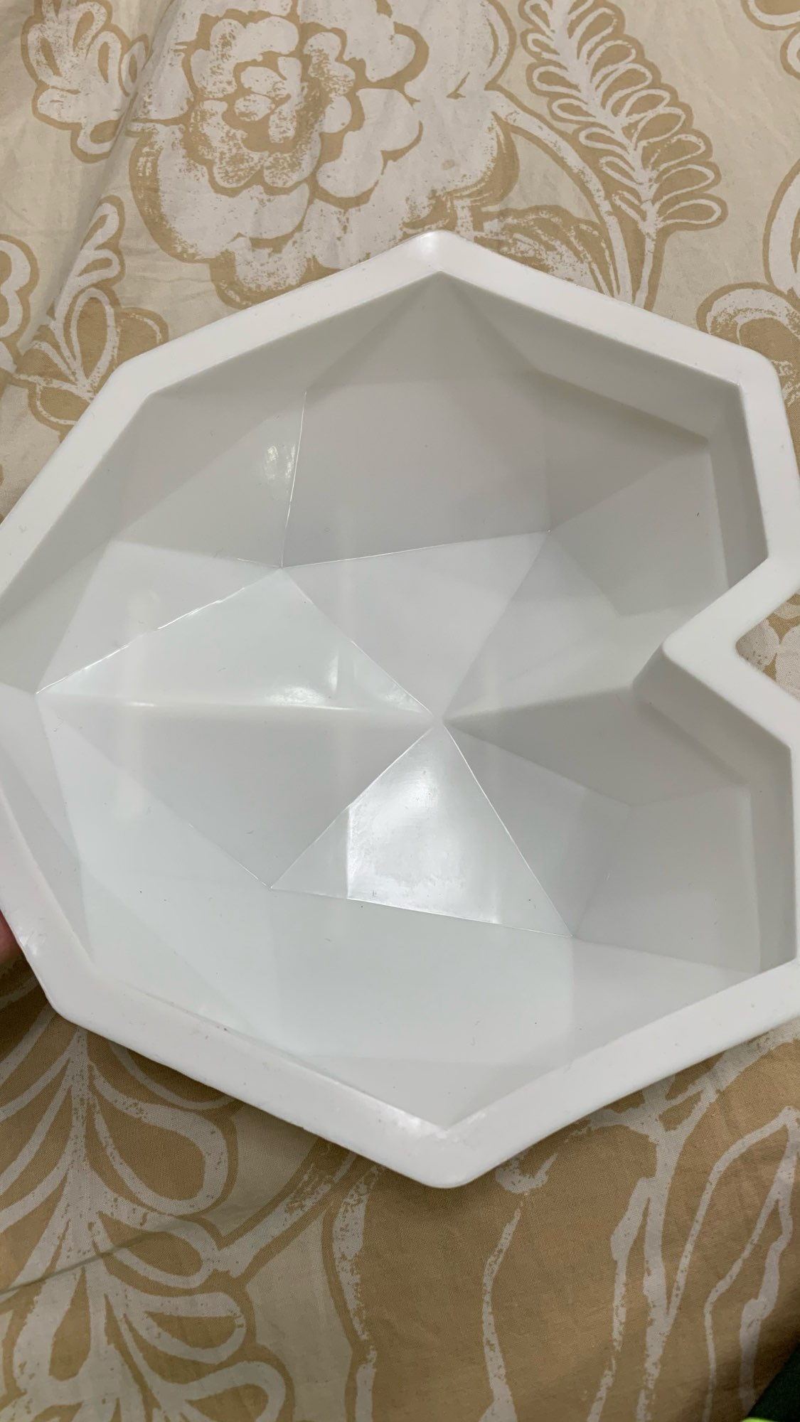 3D Diamond Love Heart Shape Silicone Mold photo review