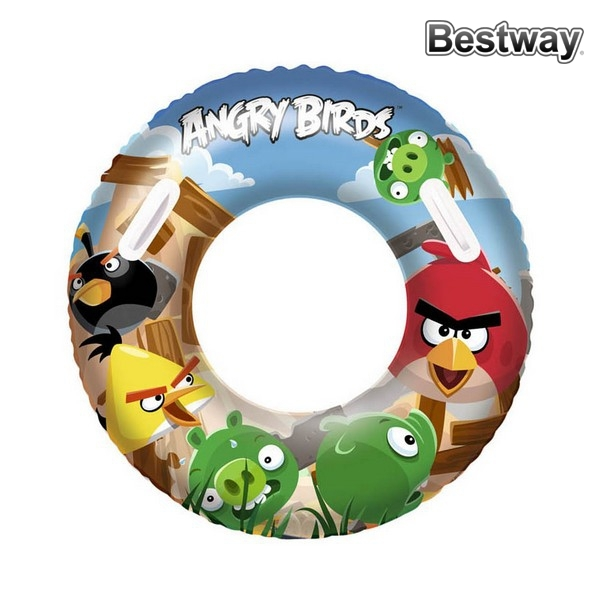 Inflatable Pool Float Angry Birds Bestway 112692