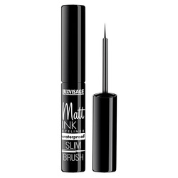 Eyeliner luxvisage Matt tinte wasserdicht, schwarz Schwarz Langlebig Eye Liner Bleistift Wasserdicht Eyeliner Wisch-Proof Kosmetik Schönheit Make-Up Flüssigkeit