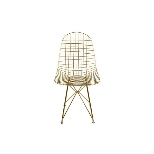 Dining Chair Metalic Angle (46 X 86 X 49 Cm)