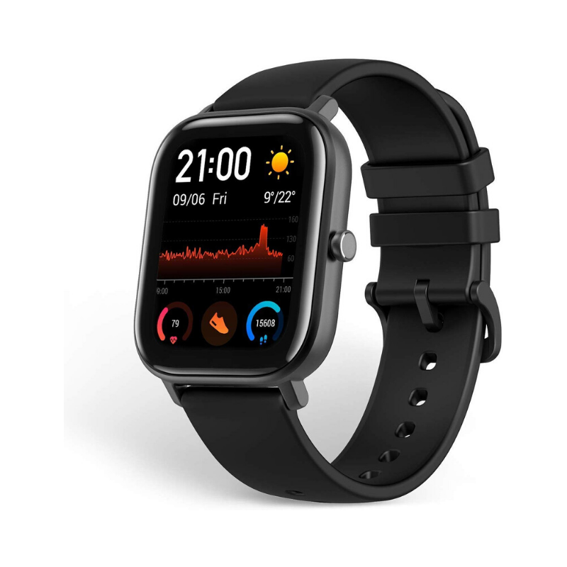 Global Version Amazfit GTS Smarwatch 1,6 Inch, OLED Screen, 5ATM Waterproof, 14 Days Battery Life
