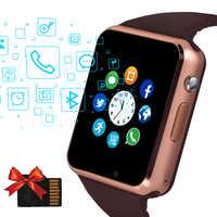 2019 Beaulyn A1 montre intelligente hommes pour téléphone Android Apple montre soutien Sim TF carte 0.3MP caméra Bluetooth Smartwatch femmes enfants
