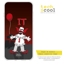 FunnyTech®Silicone Case for Xiaomi Pocophone F1 l Krusty The simpsons Movie IT background