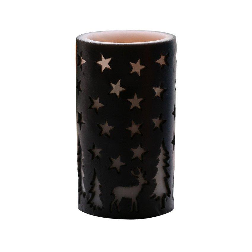 Candle LED Color Black 83J