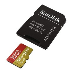 Micro SD Memory Card with Adaptor SanDisk SDSQXA1-GN6AA C10 160 MB/s
