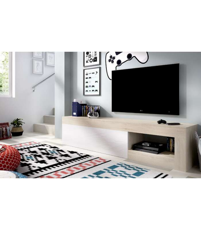 TV Cabinet Lebo Lifelike/white Brightness