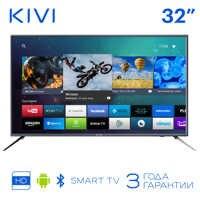 TV 32 KIVI 32H600GR HD Smart TV Android HDR 32inchTv digital DVB DVB-T DVB-T2