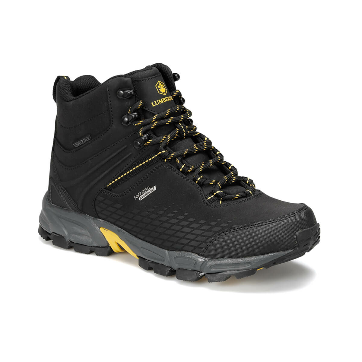 FLO FLAKE HI 9PR Black Male Outdoor Boots LUMBERJACK