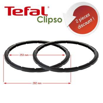 SEB szybkowar wymiana pierścienia uszczelniającego Tefal Clipso uszczelnienie parowe 2 sztuki 8-10 litrów tanie i dobre opinie TR (pochodzenie) Części do parowaru
