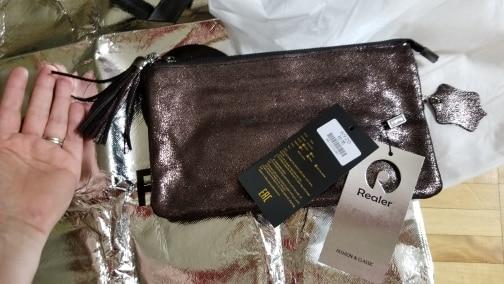 Retro Genuine Leather Crossbody Clutch Bag photo review
