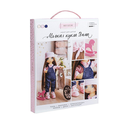 3548671 Emma interior doll, sewing kit, 18*22.5*3 cm