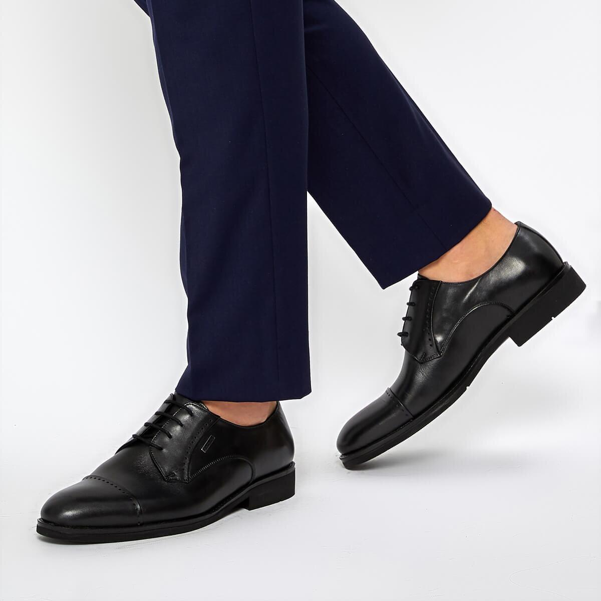 FLO NEBRASKA 9PR Black Men 'S Classic Shoes MERCEDES