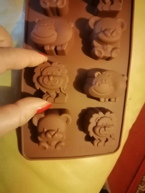 Animal Faces Silicone Mold photo review