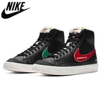 Nike Blazer Mid 77 Vintage Multi Have A Good Day casual sports skateboard shoes for men Unisex women Sneaker
