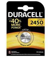 Lâminas de boton duracell bateria original litio cr2450 3 v en blister 10x unidades