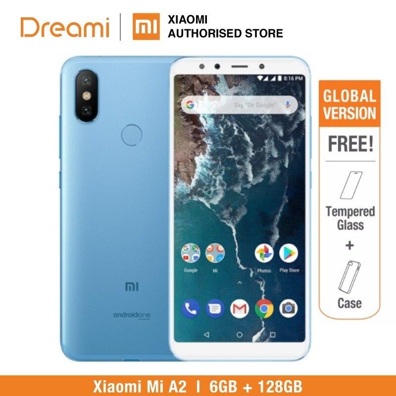Глобальная версия Xiaomi Mi A2 128 GB Встроенная память 6 ГБ Оперативная память