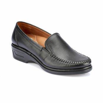 FLO 82 110075 Z czarne buty damskie Polaris 5 Point tanie i dobre opinie Polaris 5 Nokta Trzciny