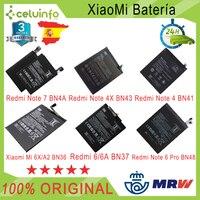 Original Batterie 6A 6 geschrieben für Xiao mi redmi Hinweis 4X Hinweis 4 Hinweis 5 Note 6 Pro/mi 6X mi A2 mi 8 mi 8 Lite Verschiffen aus Spanien Handy-Akkus Handys & Telekommunikation -