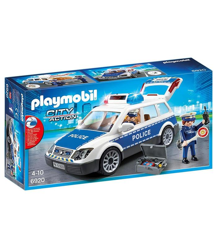 Playmobil 6920 Police Car With Lights And Sound Toy Store Articles Created Handbook