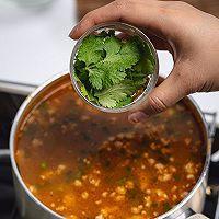 泰国美食酸辣猪肉沫汤的做法图解14