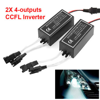 CCFL Inverter for CCFL Angel Eyes Light Lamp Bulb Halo Ring Spare Ballast 12V Fit for BMW E36 E46 and All Cars New image