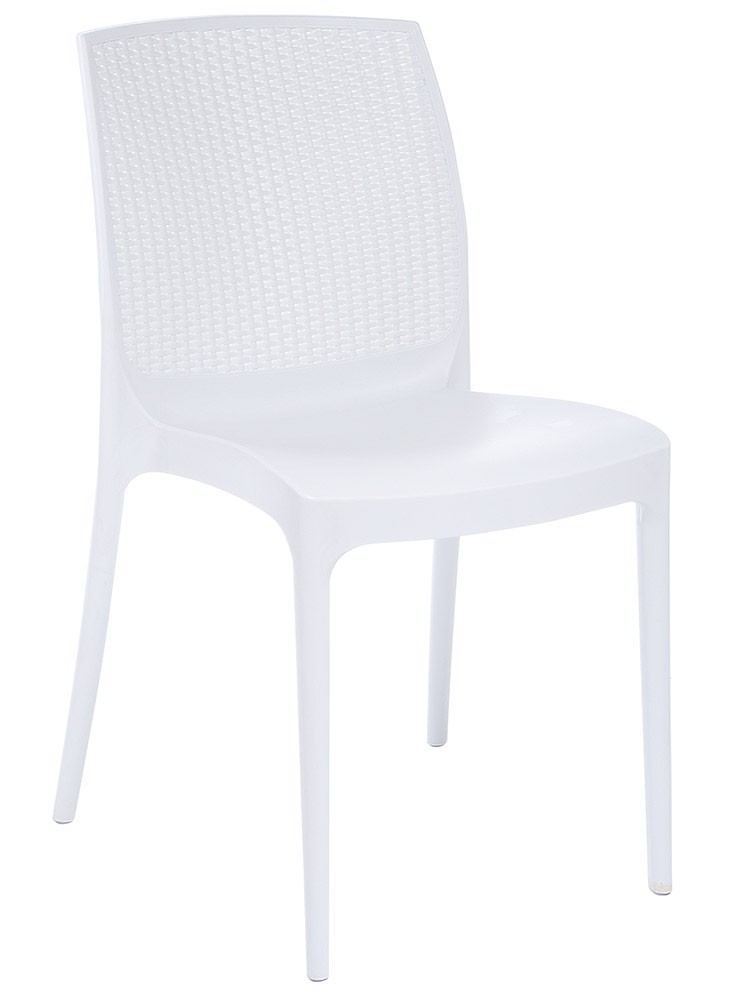 Chair BORA, White Polypropylene