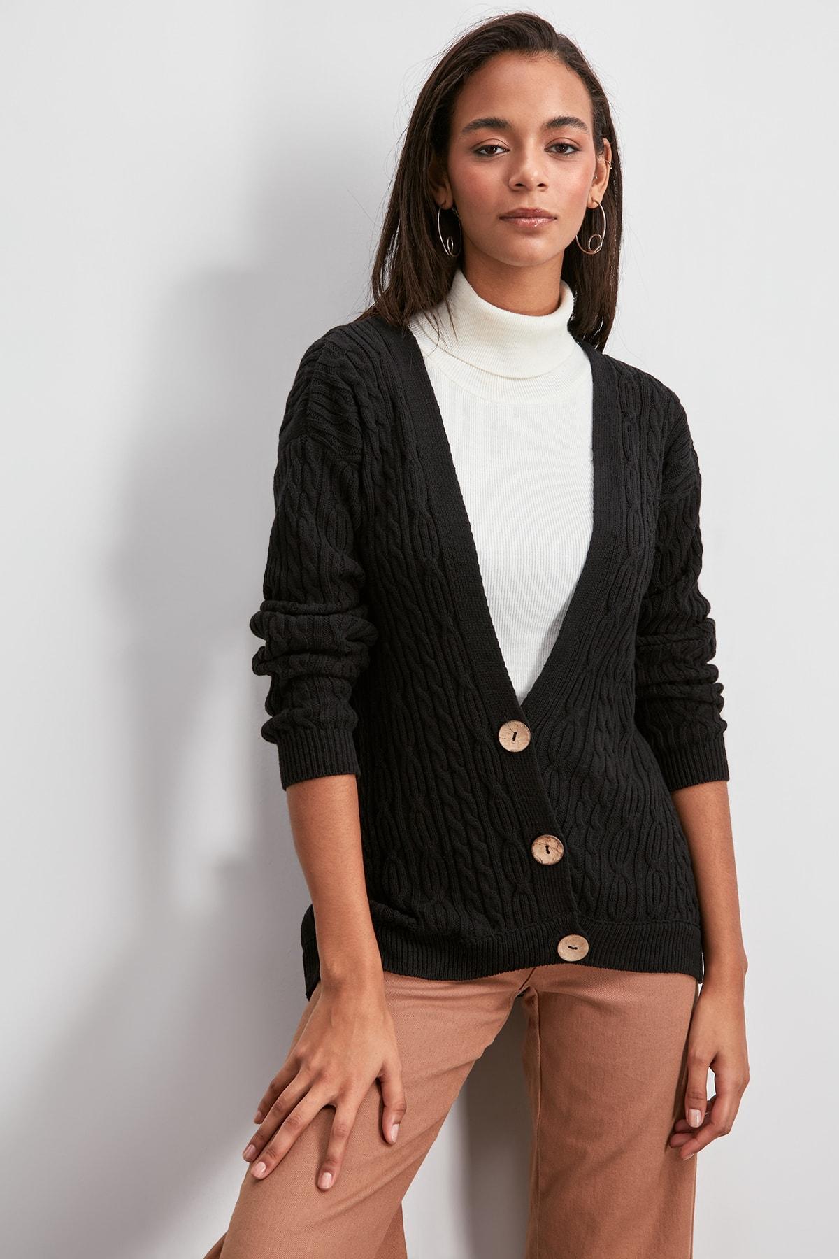 Trendyol Sweater Cardigan TWOAW20HI0075