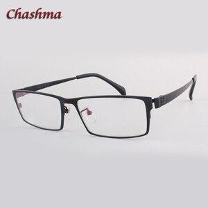 Image 1 - สุภาพบุรุษหน้ากว้างไทเทเนียมบริสุทธิ์แว่นตากรอบแว่นตา Full Rimmed Gafas แว่นตาแว่นตา