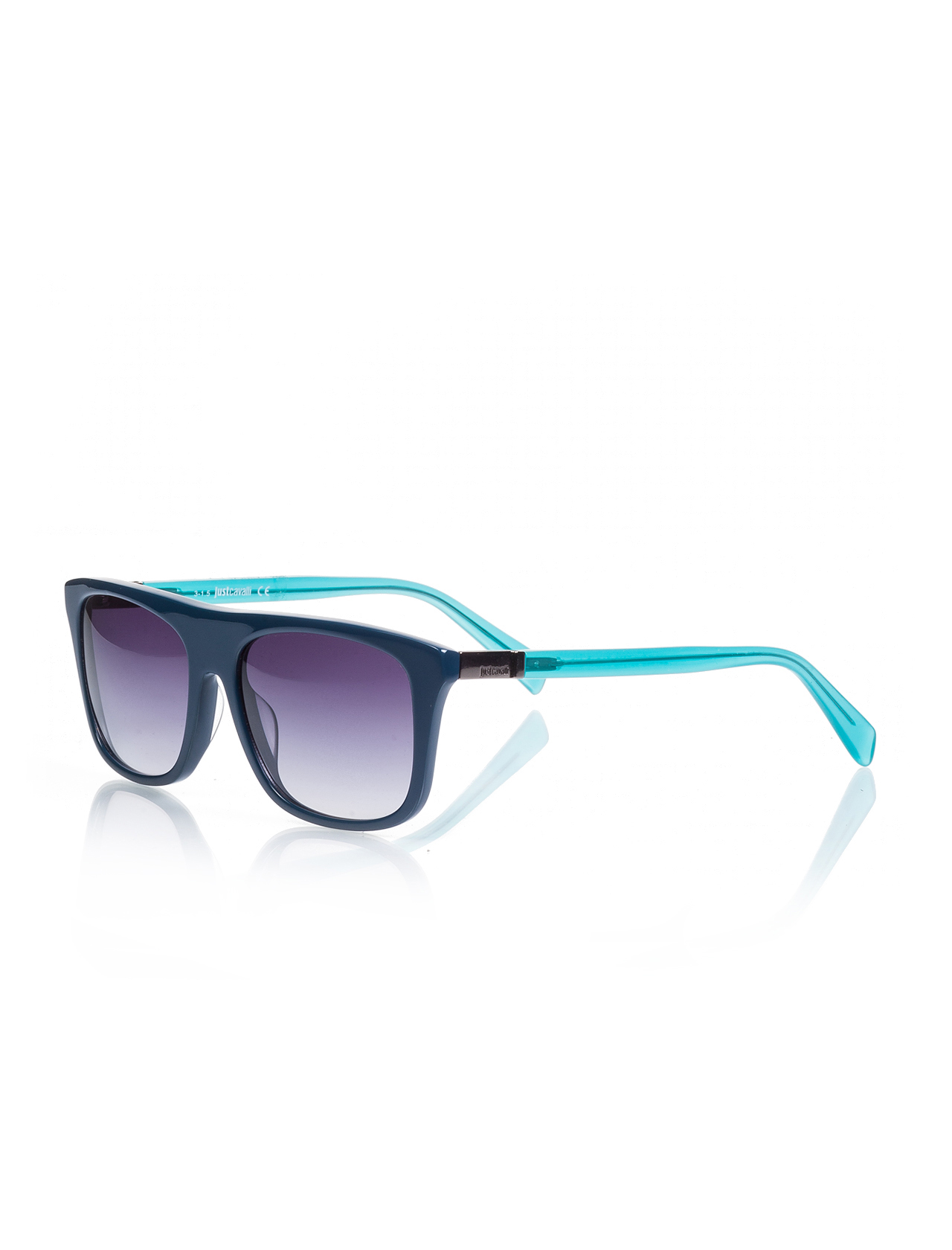 Unisex sunglasses jc 729 90b bone oil green organic square square 56-17-145 just cavalli