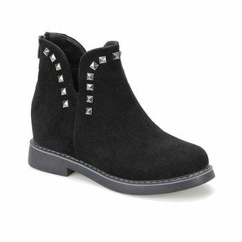 FLO DERIN85Z SUEDE Black Women Boots BUTIGO