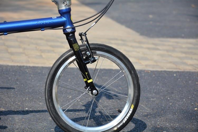 """U2bc6675512094679affac7649caa0880S Fnhon Gust CR-MO Steel Folding Bike 16"""" 305 349 Minivelo Mini velo Bike Urban Commuter Bicycle V Brake 9 Speed"""